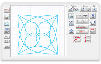 quilt pattern design in software